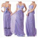 カラービジュー付セクシーメッシュドレス